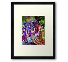 Flamenco Nights Framed Print