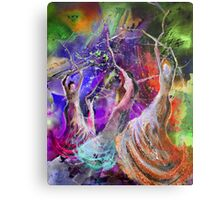 Flamenco Nights Metal Print