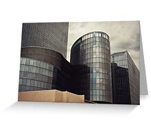 Revel Abstract Greeting Card