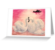 Rose Tinted Lenses Greeting Card