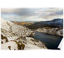 Snowy Welsh Landscape Poster