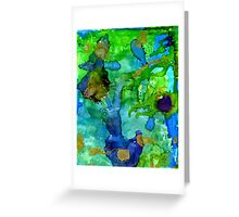 Perfect Petals and Spring Showers Greeting Card