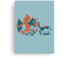 Minimalist Pokemon Trainer from Super Smash Bros. Brawl Canvas Print