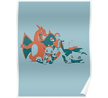 Minimalist Pokemon Trainer from Super Smash Bros. Brawl Poster