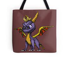 Spyro Pixelated Tote Bag