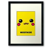 Moustachu! Framed Print