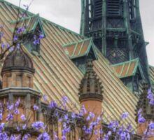 Gothic University Spring Sticker