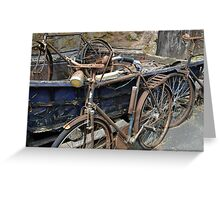 Bicycles.......... Greeting Card