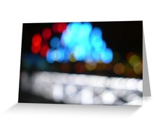 Light Bridge Greeting Card