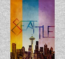 Seattle in Color Unisex T-Shirt
