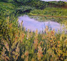 Goldenrod at Graham Creek by Lynda Earley