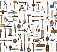 Tools and Utensils. Good Old Days. by Val Goretsky