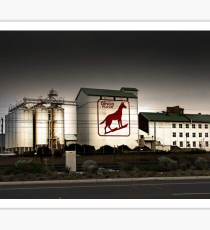 Dingo Flour Mill - Fremantle Western Australia  Sticker