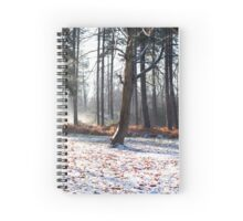 Winter in the woods, Newark Spiral Notebook
