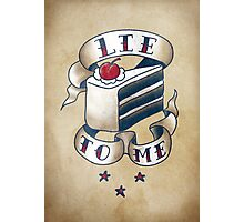 """""""Lie To Me"""" Photographic Print"""