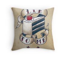 """Lie To Me"" Throw Pillow"