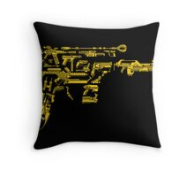 No Match for a Good Blaster - 26 Classic Sci Fi guns Throw Pillow