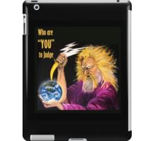 the eighth day iPad Case/Skin