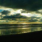 Kalaloch Beach Sunset by kchase