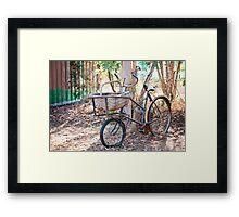 Parked Up  Framed Print