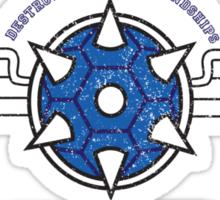 Mario Kart - Blue Shell Shirt Sticker