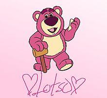 Lotso hugin' bear by emilyg23