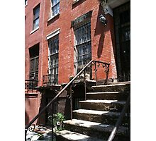 Brownstone Photographic Print