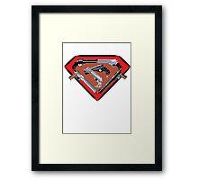Super Steel Framed Print