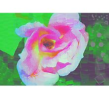 Everyman's rose abstract Photographic Print
