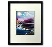 Fey Landscape Framed Print