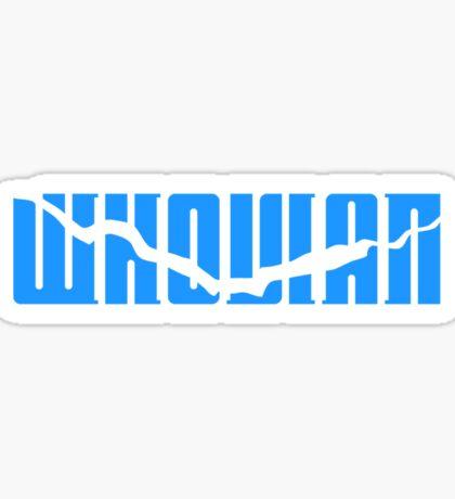 Whovian - Blue Sticker