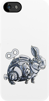 Clockwork Rabbits illustration by Ethan Yazel by EthanBurnsides