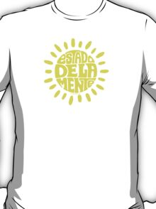 Sunny State of mind Sundried Yellow T-Shirt