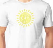 Sunny State of mind Sundried Yellow Unisex T-Shirt