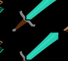 Swords and Pickaxes  Sticker