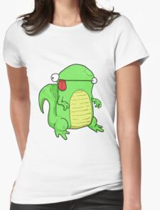 Small lizard. Womens Fitted T-Shirt