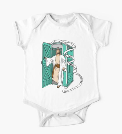 Jesus has left the thrown. One Piece - Short Sleeve