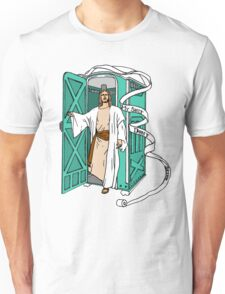 Jesus has left the thrown. Unisex T-Shirt