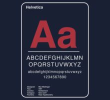 Helvetica Kids Clothes