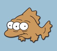 Blinky the three-eyed fish from The Simpsons by Alkasen