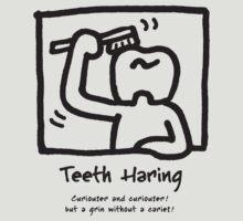 Teeth Haring_A (mono) by AJABON