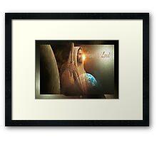 Jesus Is Lord Framed Print