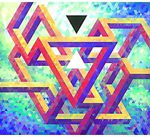 Trixel Maze Photographic Print
