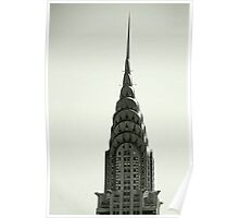 the chrysler building Poster