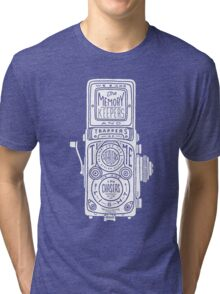 Chasers of the Light - White Tri-blend T-Shirt