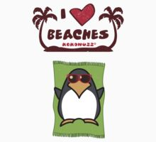 I love Beaches Kids Tee