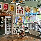 Inside the Ozark Cafe, Jasper by Graeme  Hyde