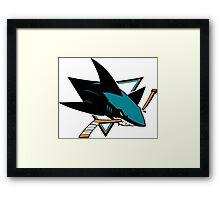 San Jose Sharks Framed Print