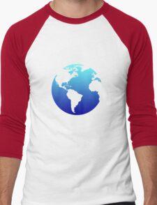 Earth Men's Baseball ¾ T-Shirt