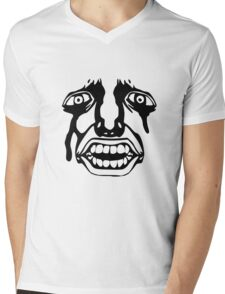 Anime - Behelit Mens V-Neck T-Shirt